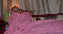 Lottie still looking after me