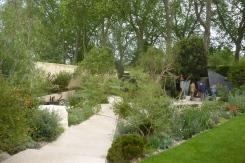 The winning garden!
