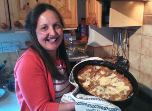 I made a lasagne!