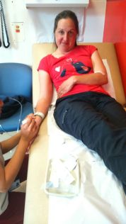 Arterial blood gases test...