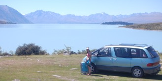 Our van in NZ!