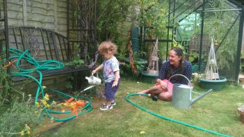 Gardening with Nate