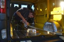 Insulating the van