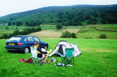 Camping with Phil in Yorkshire