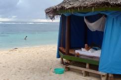 May favourite beach in Samoa