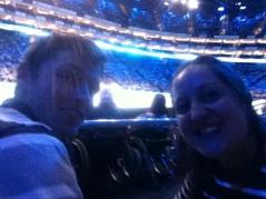 Court side selfie!