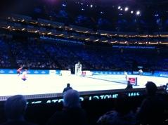 The doubles match = Kontinen & Peers v Klaasen & Ram