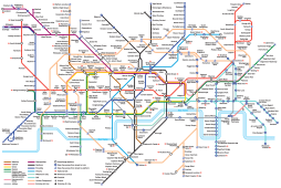 All of the tube stations