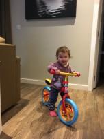 Mei-Yan and her new bike