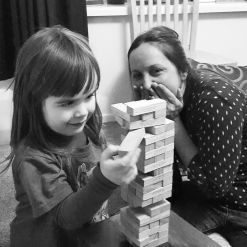 Jenga with Luca!