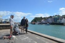 Harbour pose!