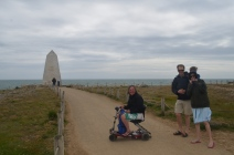 Just before we rescued a fallen lady at Portland Bill!