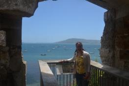 Aquamarine seas from the fort!