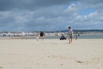 The massive sandy beach!