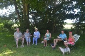 Shady picnic...