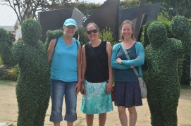 Hampton Court Flower Show with my sister and Mum...