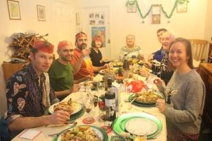Christmas dinner time!