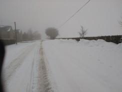The village roads