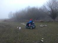 Off roading at Carsington Water