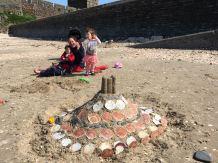 Our amazing sand castle!