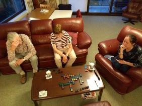 Evening Qwerkle game