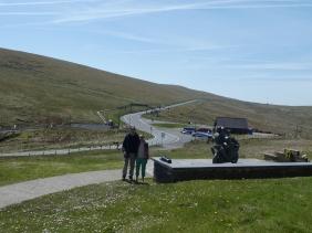 The famous mountain TT circuit