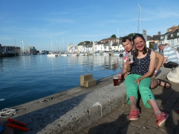 Weymouth harbour...