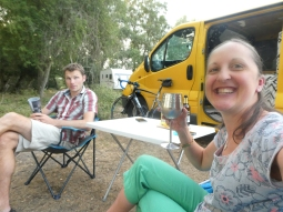 Camping in the bumblebee