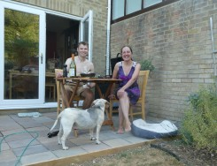 First BBQ on our new patio