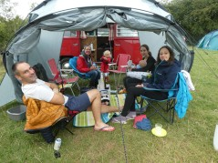 Camping in Hampshire