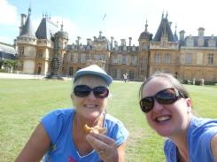 Picnic at Waddesdon Manor with my Mum
