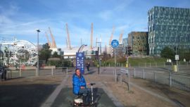 At the 02 Arena