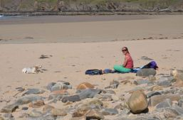 Far beach at Bettyhill on the North Coast