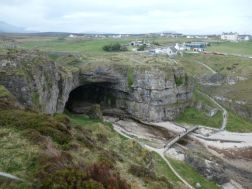 Smoo Caves on North Coast