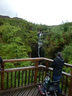 Waterfall on West Coast