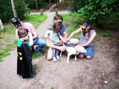 WE all dressed up as super heroes!