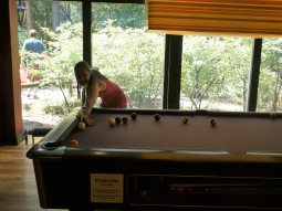 Playing (and losing) pool