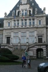 Her local town hall